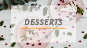 dessert gammes de produits