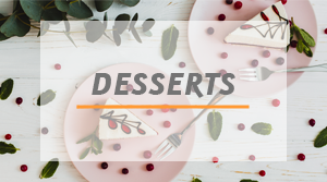 gammes de produits desserts