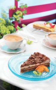 almondy tablerone tarte
