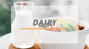 gammes de produits ezdo Dairy