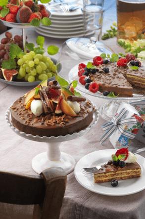 tarte chocolat Almondy